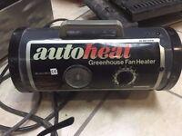 green house fan heater mod 3000