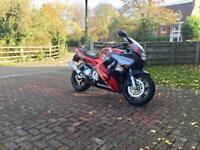 Honda CBR600 CBR600F 1995 29,000 miles. Nice clean, low mileage, original bike