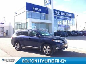 2013 Toyota Highlander -PRICE REDUCED-V6 4WD Leather Sunroof All