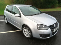 2008 Volkswagen Golf 2.0 TDI GT 5dr HEATED LEATHER SEATS, Full year MOT