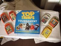 Top trumps game and extra packs