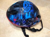Kids Transformers Helmet, Good condition 52-56cm