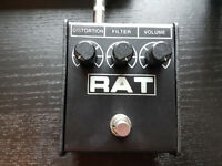 ProCo Rat 2 Guitar Distortion Pedal - 9Volt or Battery Powered (Also great for acid synth leads!)