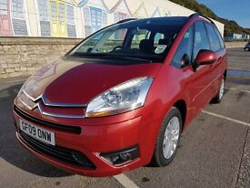 CITROEN C4 GRAND PICASSO 7 SEATER ,JUST SERVICED NEW 12 month MOT