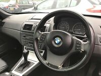 2004 (54 reg) BMW X3 2.5 i Sport 5dr SUV Automatic Petrol 4x4