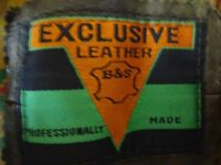 Retro Brown Leather Jacket