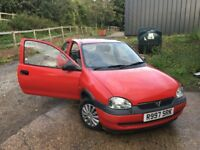 Vauxhall Corsa three door Auto suit new driver 1.4 engine V good condition
