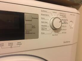 Beko excellence 7kg washing machine