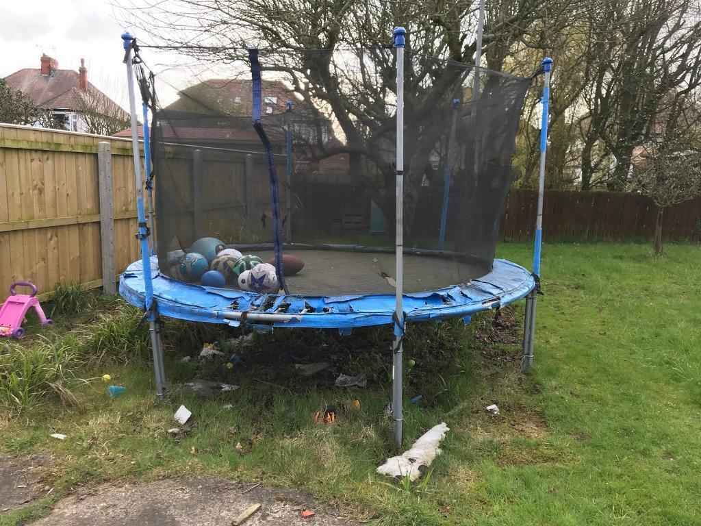 Huge trampoline