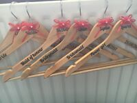 Personlised coat hangers