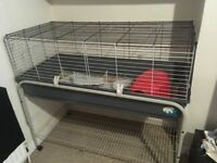 For sale Guinea pig cage / hutch with stand and accessories