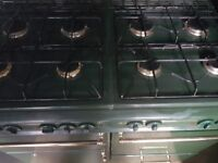 Range gas cooker 8 burners free delivery