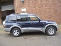 Mitsubishi SHOGUN,3.2 Turbo diesel 7 seat 4x4,nice clean tidy Jeep,runs and drives very well
