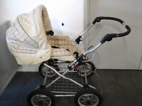 Lux babystyle collection, travel system with carrycot, pushchair, rain covers & cosytoes