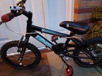 Boys raleigh striker bike - would suit 4-6 yrs old- Great condition
