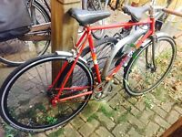 Peugeot vintage sports bike with new wheels and single gear