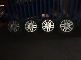 """Vw golf 16"""" Alloys wheels and tyres !"""