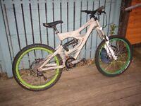 "Giant Faith Full Suspension Downhill Mountain Bike DH MTB 2005, 26"" wheels, frame size Large"