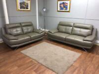 Harvey's leather sofas