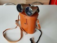 QUALITY SIMOR 12X50 WIDE ANGLE COATED LENS BINOCULARS IN ORIG CASE EX COND HARDLY USED SPORTS RACING