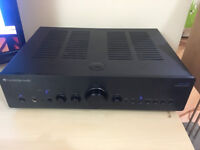 Cambridge Audio Azur 650A brushed black alloy amplifier Stunning!like new with remote