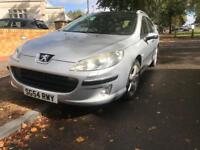 Peugeot 407 2.0 HDI - 2004 Estate - Fully Loaded - Needs TLC - not toyota Vauxhall Renault ford fiat