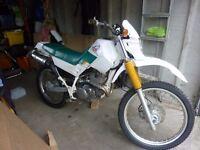 Yamaha xt225 serow