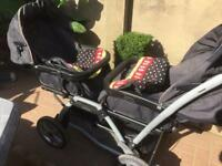 Mama's and Papa's Twins Duette Pushchair