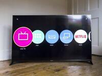 Panasonic 65 inch Ultra HD 4K Smart Freeview and Freesat HD