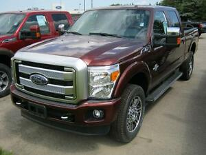 2016 Ford F-350 Platinum 156""