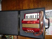 Vintage Hohner Mignon 1 Melodian/accordian