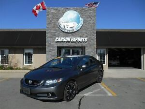 2013 Honda Civic Si! 6 SPEED AND SUNROOF! FINANCING AVAILABLE!