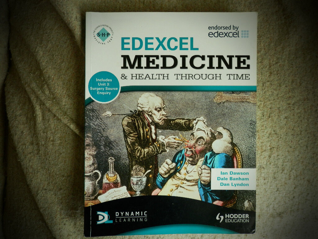 Edexcel 'Medicine and Health through time' Study book for GCSE