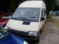 Renault traffic T1100 Holdsworth Rainbow campervan