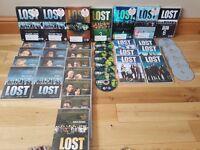 LOST DVD box set. Seasons 1-6.