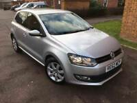 2012 Volkswagen Polo 1.2 Match 5dr - High Spec - Silver - Service History