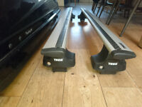 Thule Roof bars 132 cm with fittings for Ford Fusion