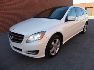 2012 Mercedes-Benz R-Class R 350 BLUETEC -- PANORAMA -- WHITE ON