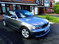 2009 BMW 118D ES Convertible 2.0CC Grey