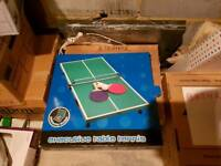 Foldable table tennis