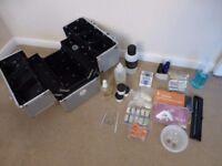 Acrylic nail set and box