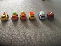 Magnet vehicles