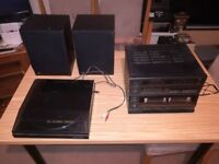 Fisher Digital Stereo system with Radio, Turntable and Twin Cassette Decks