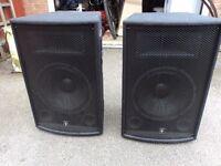 QTX qt12 speaker ( pair ) new