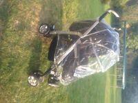 Silver Cross Pram / Pushchair/ Car Seat system 3D
