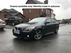 FINANCE AVAILABLE 520D M SPORT 74K MILES TRADE IN WELCOME