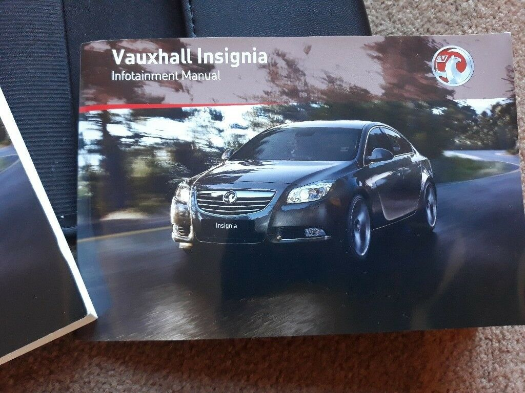 Vauxhall Insignia Owners Manual | in Cirencester, Gloucestershire | Gumtree