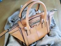 Karen Millen Tan Leather Handbag