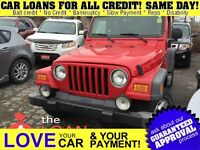 2005 Jeep TJ Sport * 2 TOPS