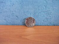 50 PENCE COIN TOM KITTEN